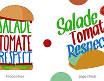 Logo chaîne de cuisine, Justin Izu