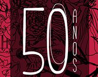 50 Anos GTT logo