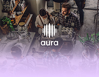 Aura Brand Identity and Website