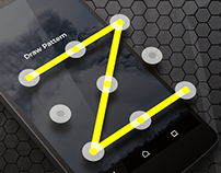 App Design - Secure Pattern Lock