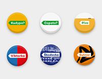 City of Pilsen – dynamic brand identity