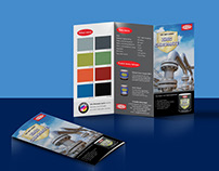 Trifold brochure for Zinc Chromate