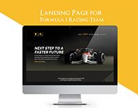 Modern Landing Page Design