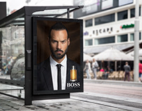 Hugo boss fragrance commercial print (personal project)