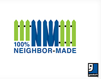 Goodwill 100% Neighbor-Made logo