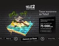 Promo-site for Tele2