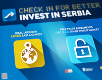Invest in Serbia - Belgrade Airport Campaign