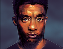 Chadwick Boseman- 50min vector freestyle tribute