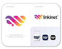 LINKINET logo design | brand identity