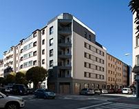 Reforma y ampliación de 10 viviendas. PAMPLONA