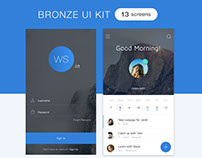 BRONZE UI KIT
