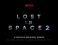 Lost in Space, season 2 UI