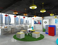 Advertising Office design concept