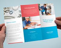 Brochure – Plumber Tri-Fold Template