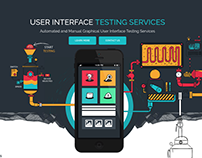 Web Page Design of UI/UX Testing Services