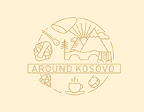 Around Kosovo Logo