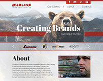Rubline Marketing Site Design
