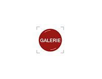 23 - Logo for http://galerielaberrante.com/