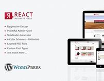 React - Responsive Wordpress Theme