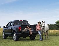 Conciliation cowboy famille