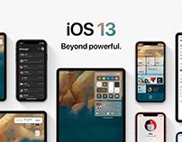 iOS 13 - Concept by Álvaro Pabesio