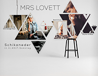 Mrs. Lovett Poster