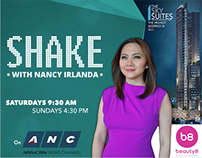 ANC Shake with Nancy Irlanda Billboard Design (Edsa)