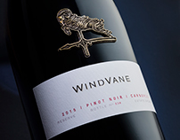 WindVane Reserve Wine Package Design