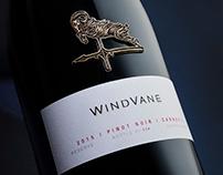 WindVane Reserve Wine Package Design