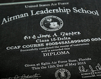 Airman Leadership School Diploma