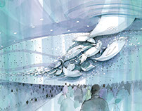 Sketching for a aquarium and zoo of Aquaplanet in Korea
