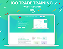 ICO Trade Training Landing Page