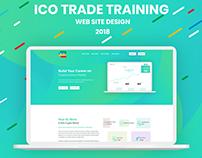 ICO Trade Training Landing Page
