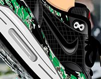 Sneaker AM1 OG Camo
