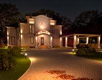 Архитектурное освещение для загородного дома