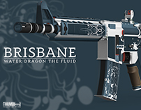 Brisbane: 3D Texture