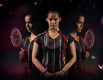 Yonex brand photo art direction
