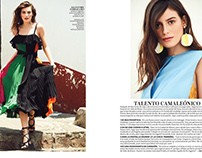 """Tropical heat"" InStyle Mexico magazine"
