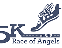 Logo, promo material + PR – Race of Angels 5K