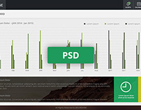 Admin Dashboard Template - Freebie