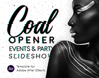 COAL - Opener Event & Party Slideshow | After Effects