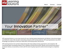 ATP Learning Website Design
