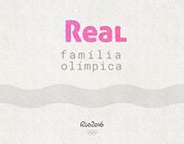 Real família olímpica