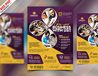 Business Promotion Creative Flyer Design PSD