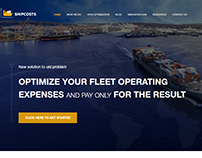 website for consulting company shipcosts