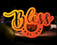 "Logo for ""Bless"". A Bakery Shop"