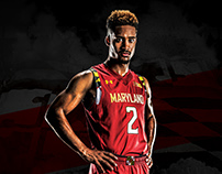 Maryland Athletics Poster Series