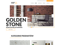 Goldenstone Shop Web Design
