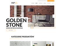 Goldenstone Shop Web Design