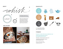 Whisk - Slow Food Zine Concept